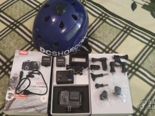Шлем DC Shoes + камера GitUp G3