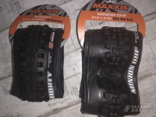 Комплект покрышек Maxxis Minion DHF 27,5х2,5 / Shorty 27,5х2,5WT (новый)