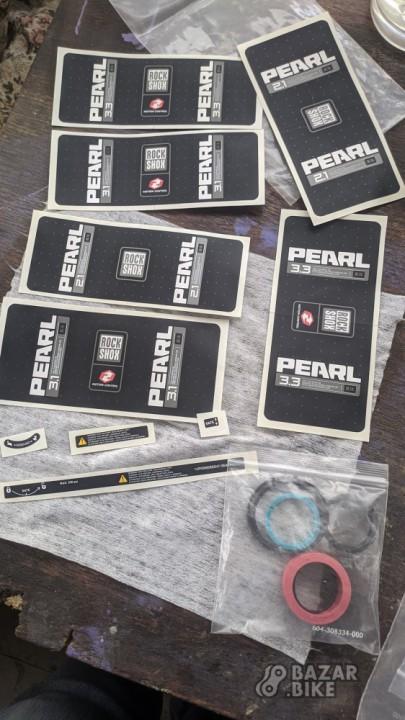 Ремкомплект для амортизатора RockShox Pearl (2шт)