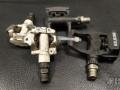 Педали контактные Shimano M520 / Exustar