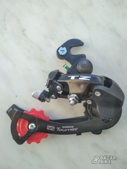 Переключатель задний Shimano Tourney TZ50 (новый)