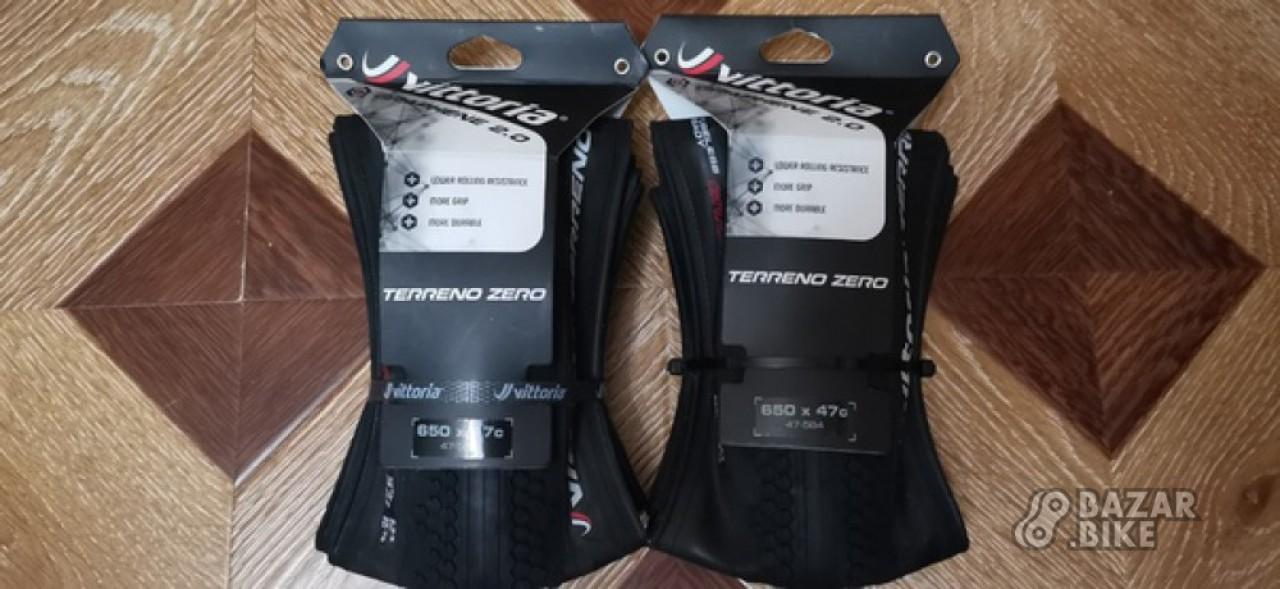 Комплект покрышек Vittoria Torreno Zero 27,5×47с (новый)