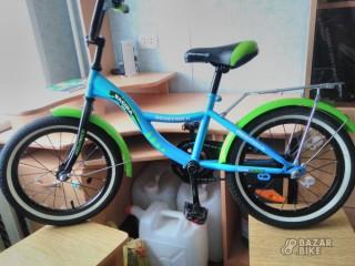 Детский велосипед Novatrack Bagira 16