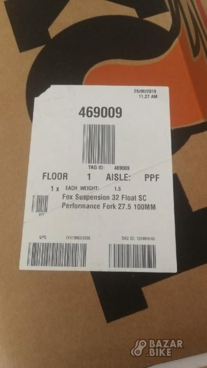 Вилка 27,5 Fox 32 Float SC Performance (новая)