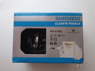 Педали контактные Shimano PD-T400