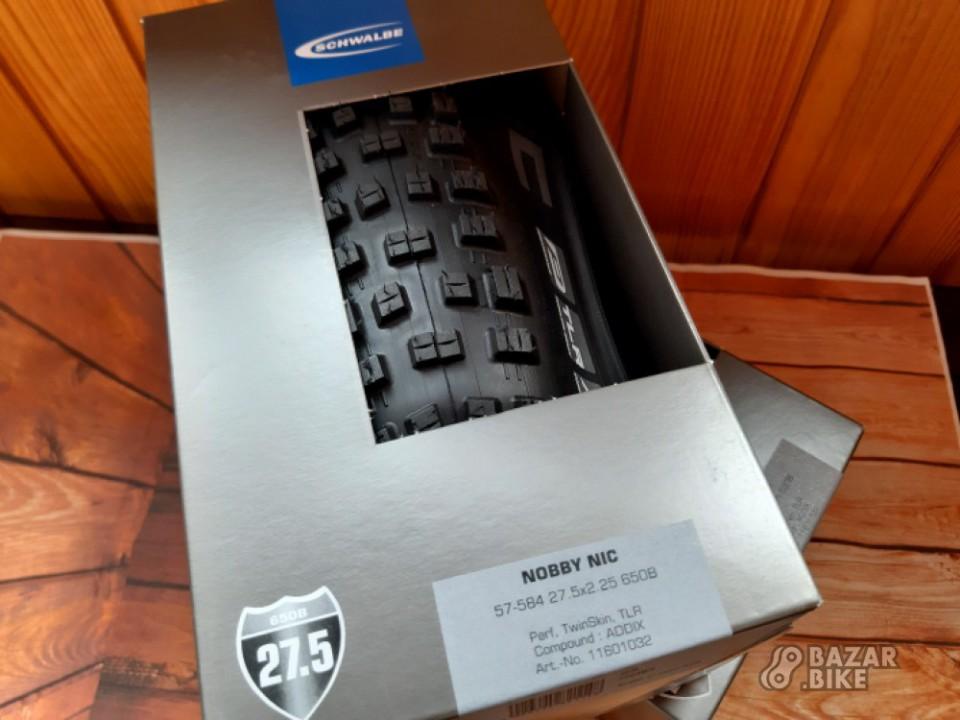 Покрышка Schwalbe Nobby Nic Performance Addix TLR 27,5×2,25 (новая)