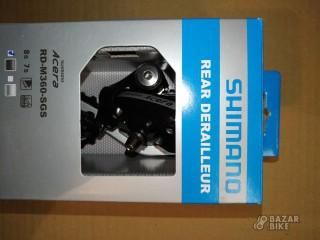 Переключатель задний Shimano Acera M360 8ск (новый)