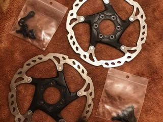 Комплект роторов Shimano Deore XT 160мм