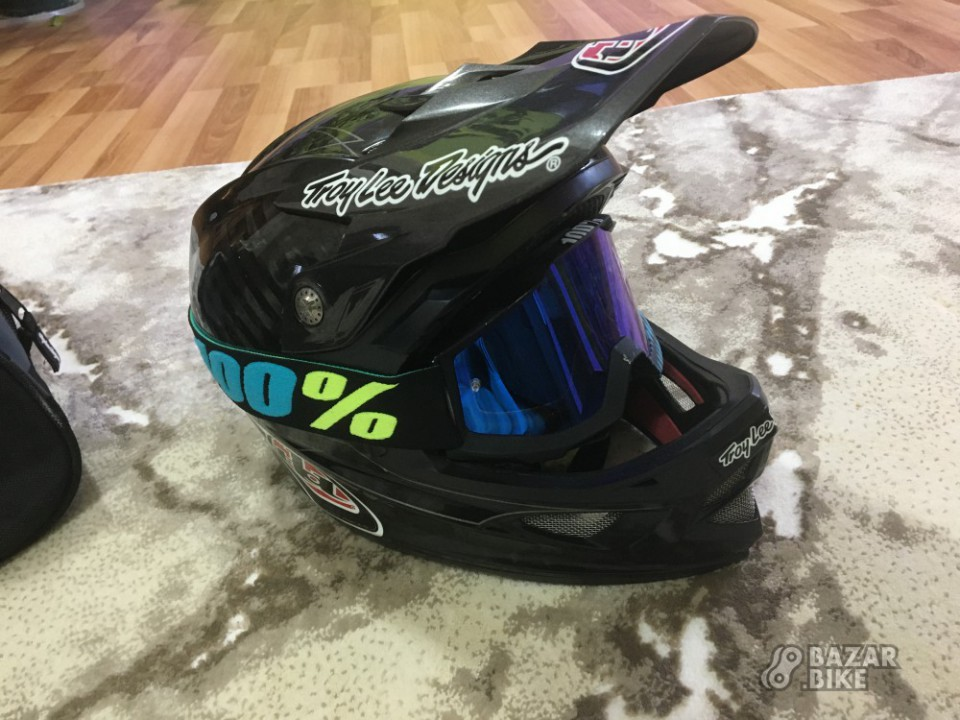 Фулфейс Troy Lee Designs D3 M