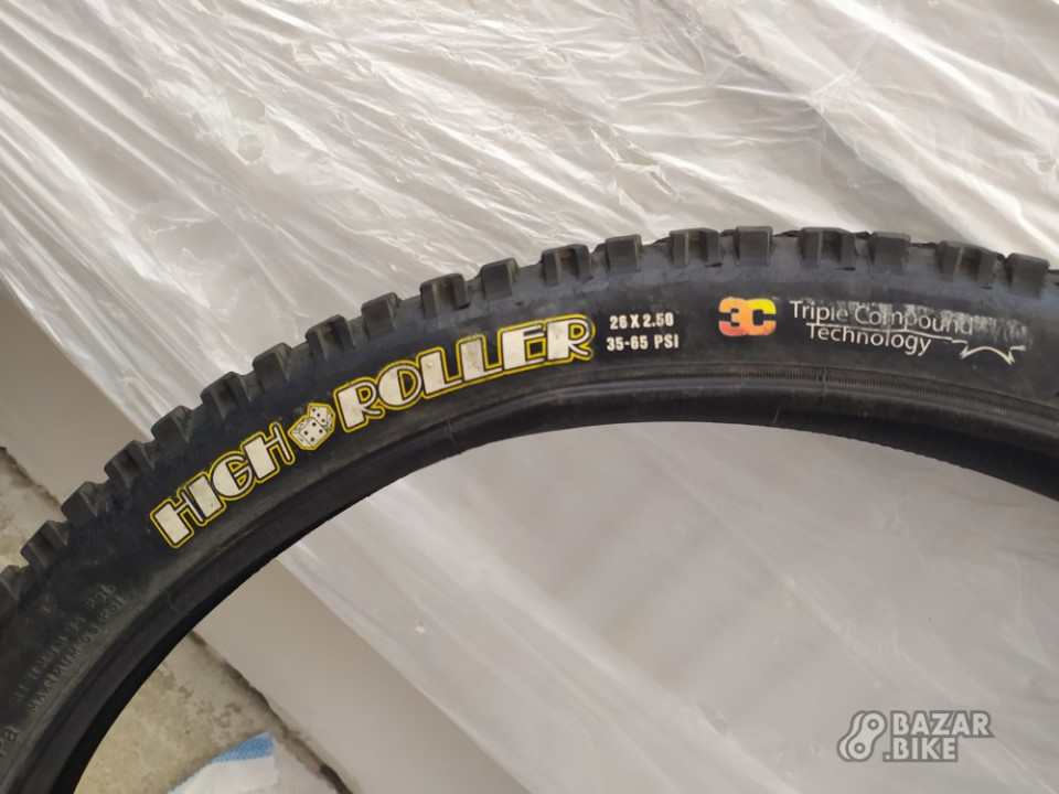 Покрышка Maxxis High Roller 3C 26×2,5