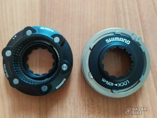 Комплект крепёжных гаек ротора Shimano CenterLock (новый)