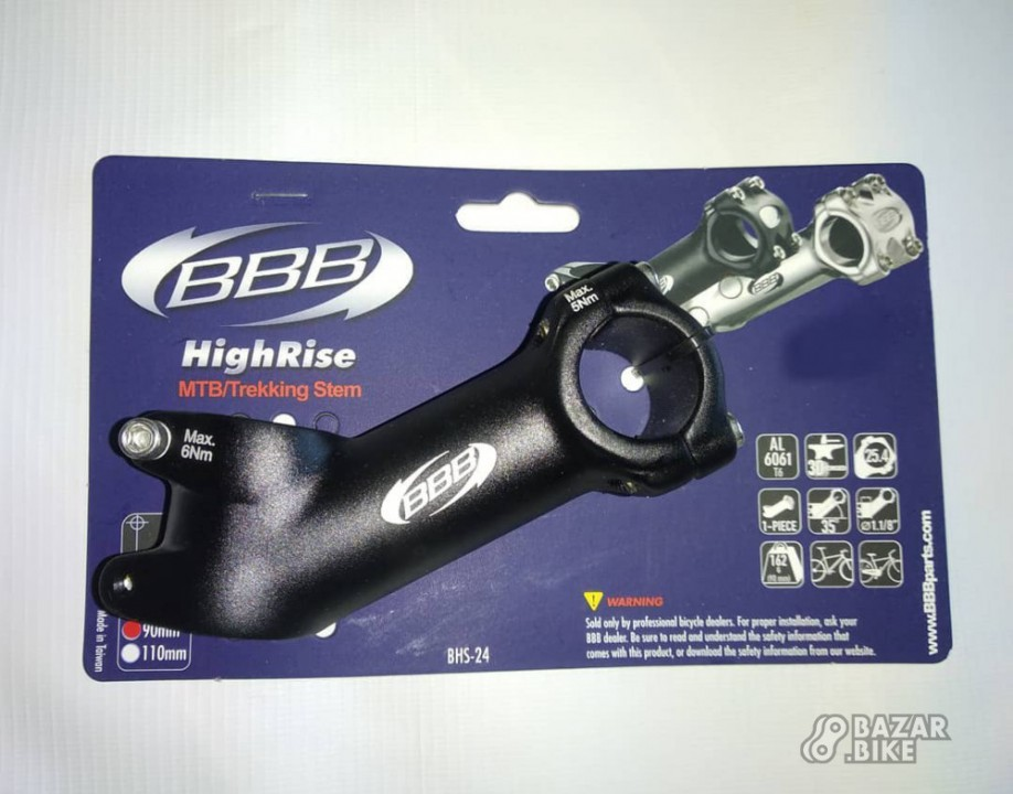 Вынос BBB BHS-24 HighRise 25,4×90мм (новый)