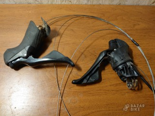 Шифтеры Shimano 105 R7000 Dual Control 2×11ск