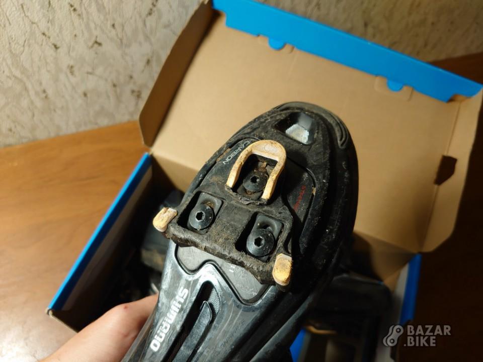 Велотуфли шоссейные Shimano RP5 EUR45