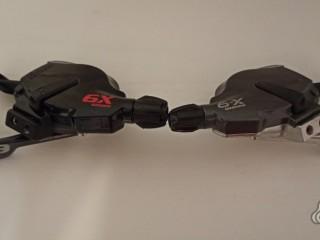Комплект манеток Sram X9 2×9ск