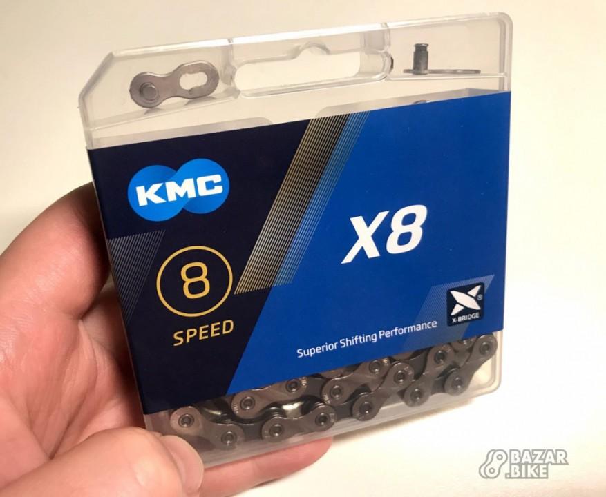Цепь KMC X8 8ск 118links (новая)