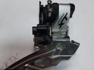 Переключатель передний Shimano Deore XT M786 + манетка Shimano Deore XT M8000 2/3ск (новая)