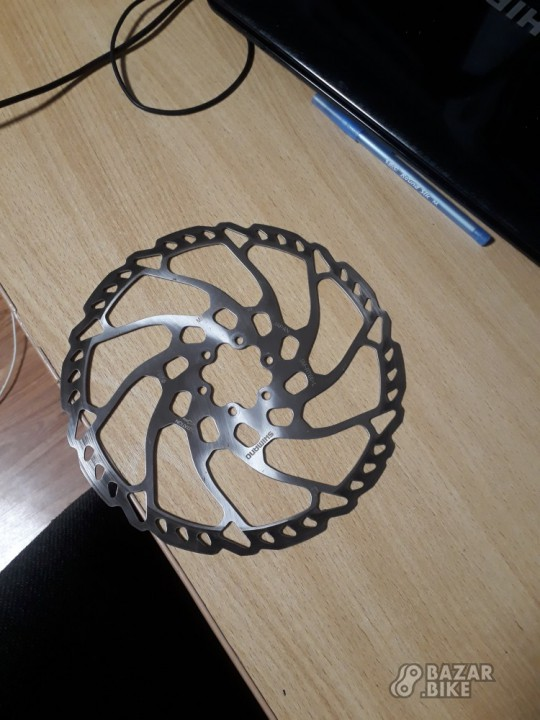 Ротор Shimano SLX RT66 203мм