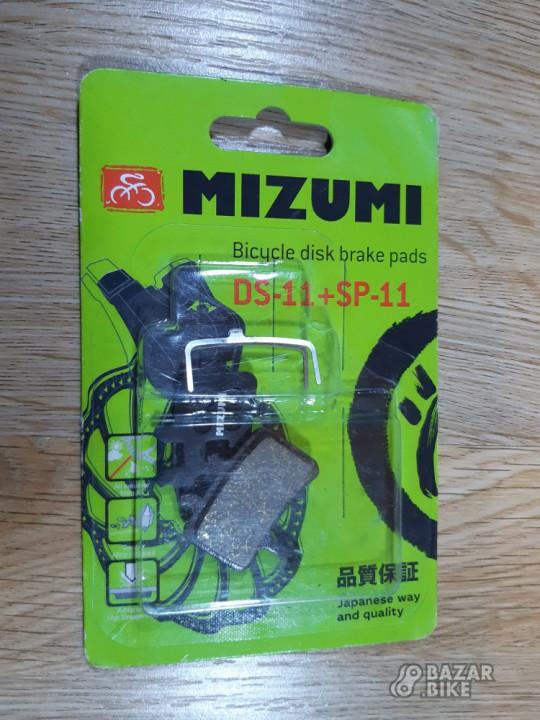 Колодки тормозные Mizumi DS-11+SP-11 Avid (новые)