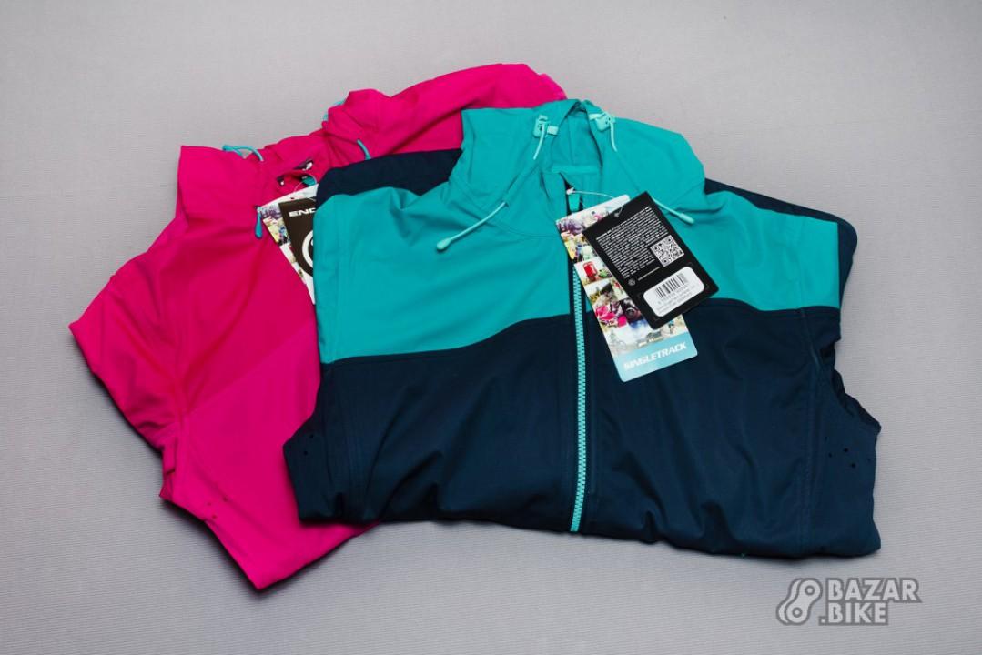 Куртка женская Endura SingleTrack Softshell M / L (новая)