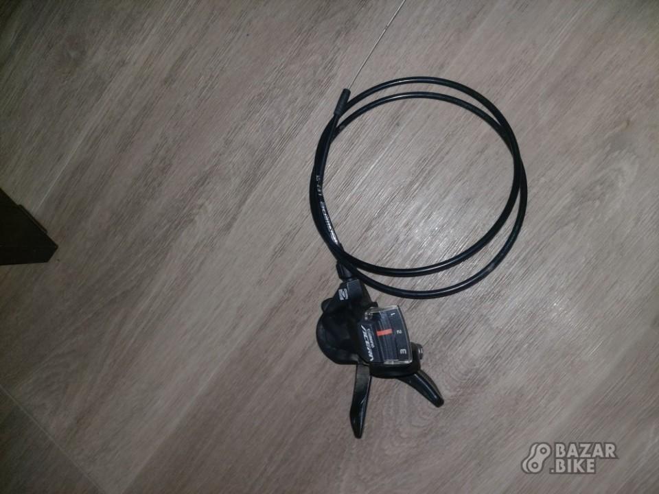 Переключатель передний Shimano Acera M3000 3ск + манетка Shimano Acera M3000