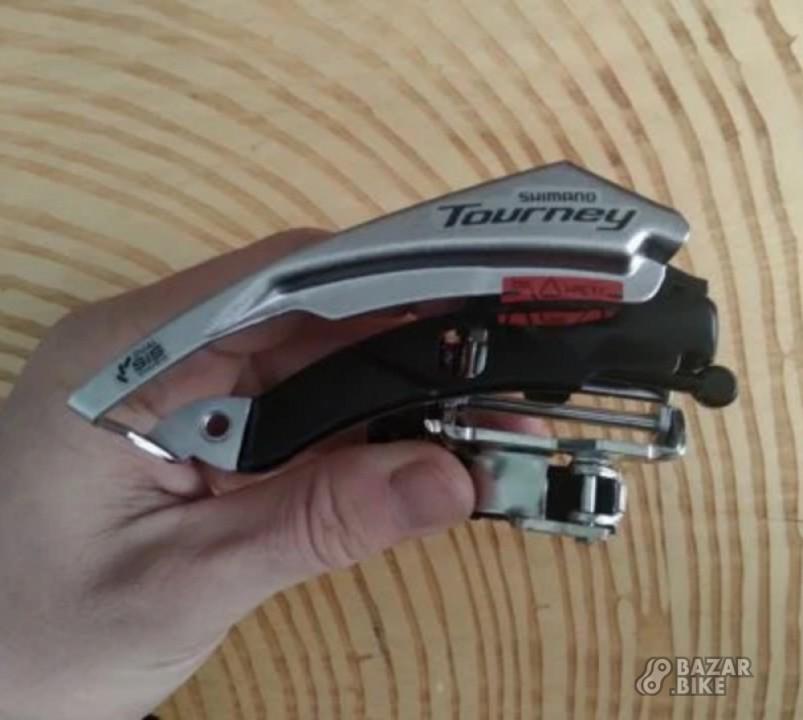 Переключатель передний Shimano Tourney TY500 3ск (новый)