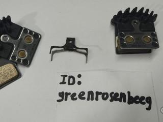 Тормозные колодки Shimano J04C Metal SLX/XT/XTR с радиатором (новые)