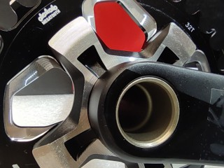 Система шатунов FSA Afterburner MegaExo Compact 32t 175мм + каретка (новая)