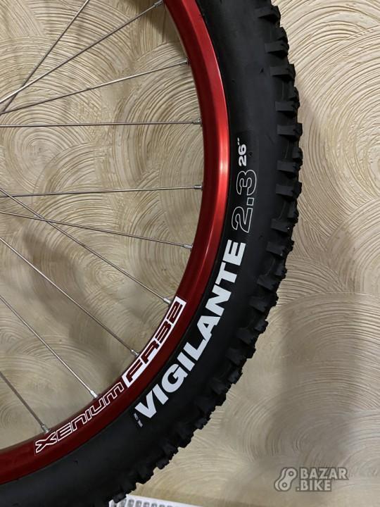 Вилсет 26 Xenium FR 32 / Novatec + покрышки WTB Vigilane 26×2,3 (новый)