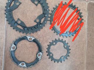 Shimano SLX M672 Triple Chainset