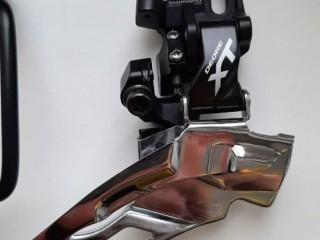Переключатель передний Shimano Deore XT M781A 2/3ск + манетка Shimano Deore XT M780-B