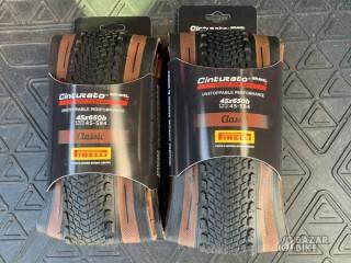 Комплект покрышек Pirelli Cinturato Gravel H 650B×45C (новый)