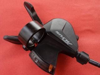 Переключатель передний + манетка Shimano Altus 2ск (новое)