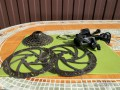 Групсет Shimano Alivio 9ск + комплект роторов