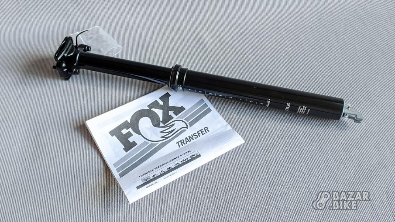 Дроппер Fox Transfer Performance Elite 31,6×125/431мм (новый)