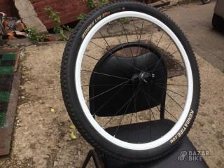 Колесо переднее 26 Alexrims / Shimano MT15 100×QR + покрышка Kenda Kozmik Lite II Pro 26×2,0