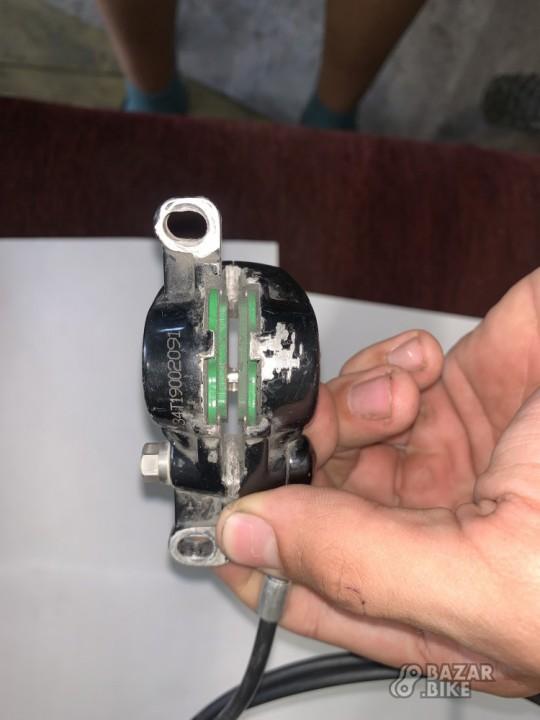 Комплект тормозов Avid X0 Carbon Green