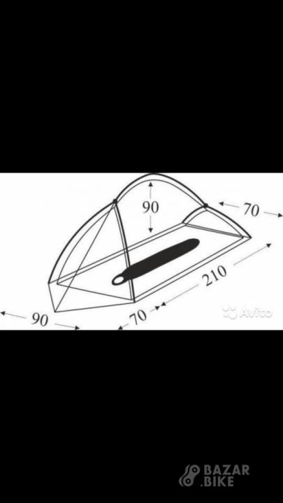 Велопалатка Пик-99 1×1 (новая)