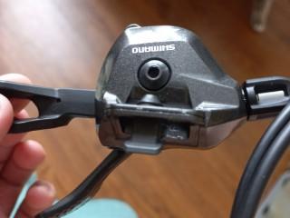 Манетка Shimano Deore M8000 I-Spec II 2/3ск (новая)