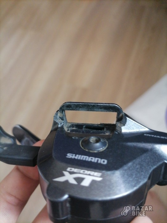 Манетка Shimano Deore M8000 I-Spec II 11ск (на запчасти)