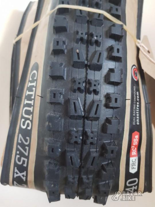 Покрышка Onza Citius FRC RC² 55a Skinwall 27,5×2,4 (новая)