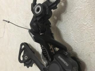 Переключатель задний Shimano Deore XT M786 10ск + манетка Shimano SLX M670