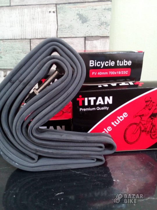 Камеры для шоссейного велосипеда Titan 700×19/23c