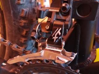 Переключатель передний Shimano Deore XT Direct Mount 3ск