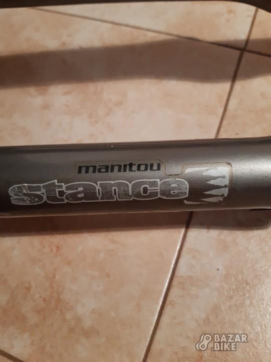 Вилка 26 Manitou Stance KingPin TPC+ 170мм