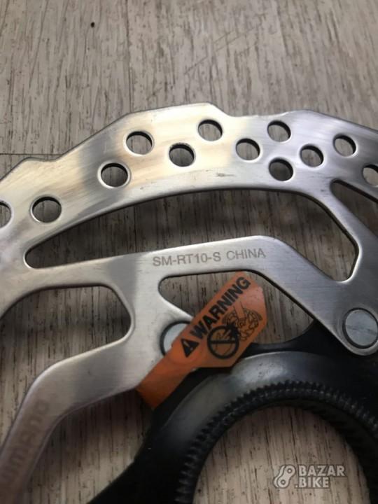 Комплект роторов Shimano Altus RT10 160мм