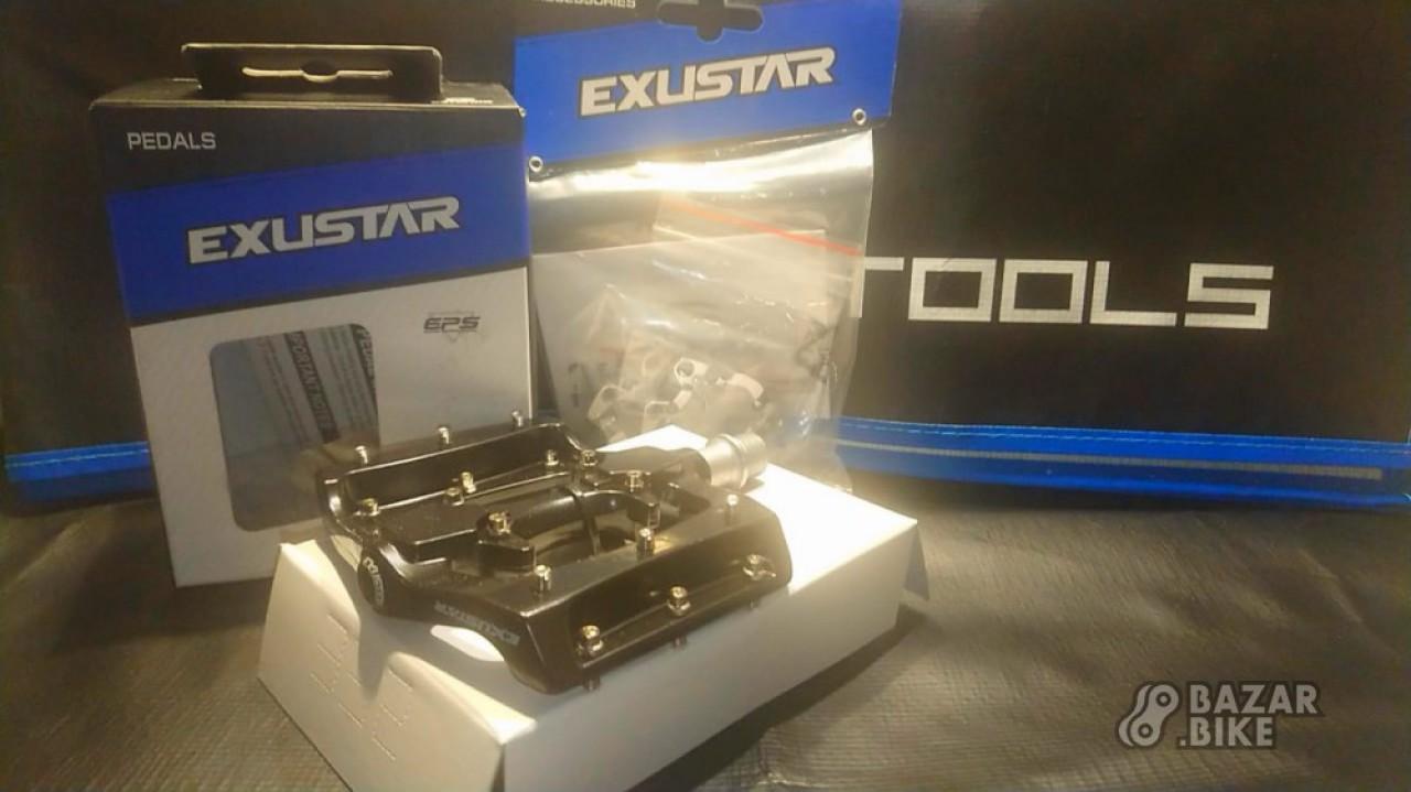 Педали гибридные Exustar E-PM820-2 (новые)