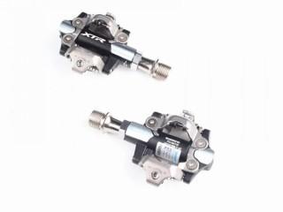 Педали контактные Shimano XTR M9100 укороченная ось 52мм (новые)