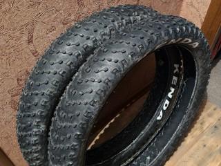 Комплект покрышек для фэтбайка Kenda Juggernaut Sport 26×4,5