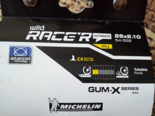 Покрышка Michelin Wild Race 26x2.1 (новая)